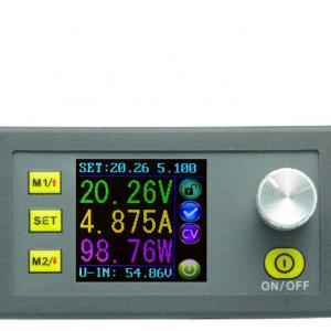 DP50V5A Buck Adjustable DC Power Supply Module With Integrated Voltmeter Ammeter Color Display.jpg